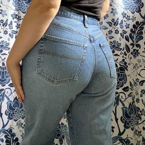 Vtg 90s Express Bleus Stovepipe Jeans
